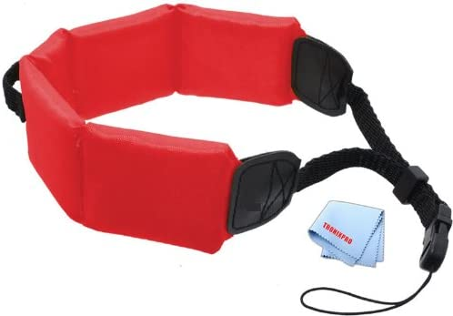 Olympus Cameras /& Camcorders Red For Canon Floating Strap Pentax Sony Nikon