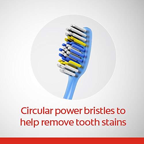 Colgate Extra Clean Full Head Toothbrush, Medium – 6 Count