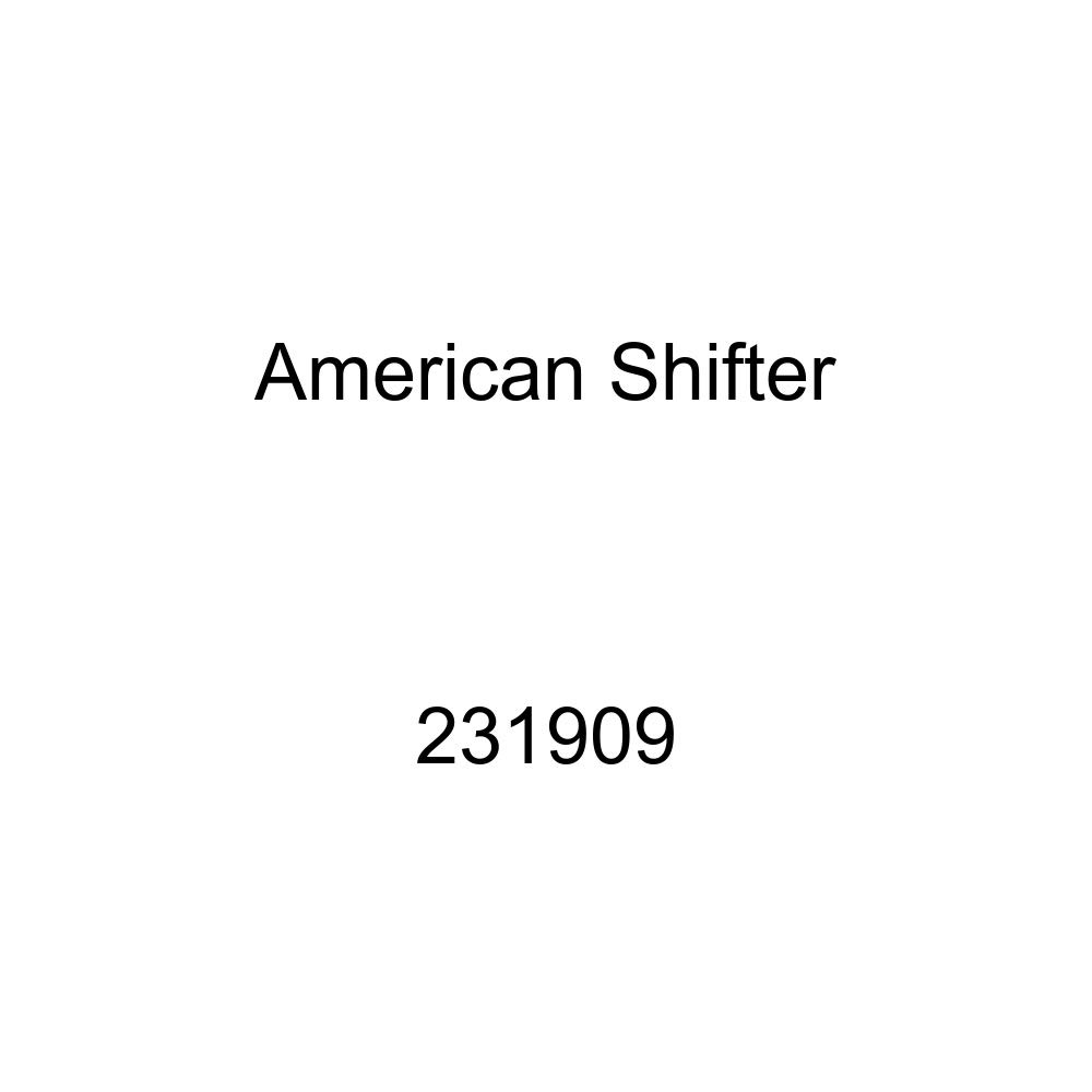 American Shifter 231909 Clear Flame Metal Flake Shift Knob with M16 x 1.5 Insert White Bus