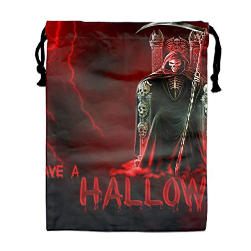 Halloween Grim Reaper Backpack for Women and Girls Casual Daypack Book School Bag ()