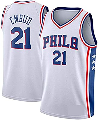 Transpirable y Resistente al Desgaste Camiseta para Fan WOLFIRE WF Camiseta de Baloncesto para Hombre Bordado NBA,Brooklyn Nets # 11 Kyrie Irving
