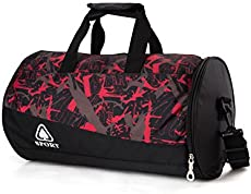 47d4ad96c49 Ricky-H Lifestyle Stylish Lightweight Sports Gym Bag with Shoes ...
