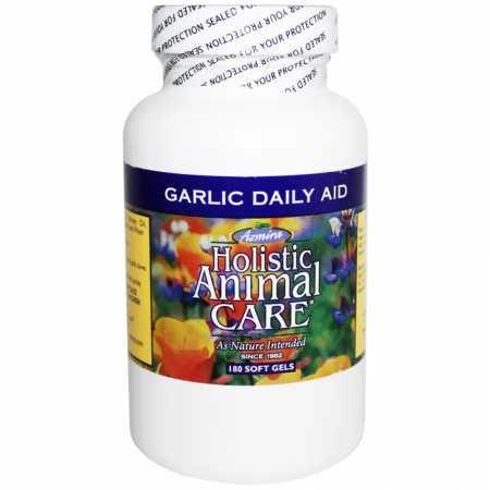 Azmira Holistic Animal Care Garlic Daily Aid (180 Soft Gels)