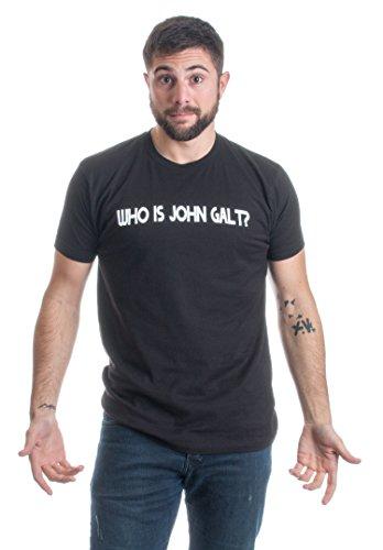 WHO IS JOHN GALT? Unisex T-shirt / Ayn Rand Atlas Shrugged Libertarian Tee