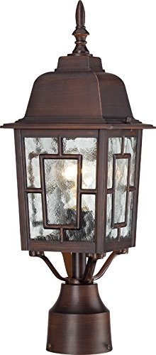 Rustic Lamp Posts Outdoor in US - 5
