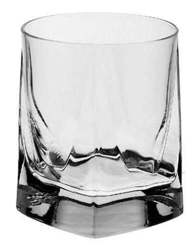 (Luigi Bormioli Alfieri 12-Ounce Double Old Fashioned Glass, Pack of 4)