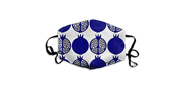 Blue Pomegranates by LiLoPe Mask Mouth Mask Neck Gaiter Mask ...