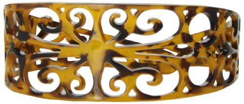 Caravan Oh! Yes This Wide Filigree Tokyo Headband Is Two (2) Inches In Width