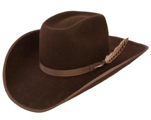 RESISTOL Boys Holt Jr B Felt Cowboy Hat Cordova (Kid Resistol Cowboy Hat)