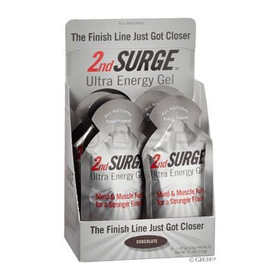Pacific Health Food 2nd Surge Chocolate Gel (Box of 8), 1.03-Ounce