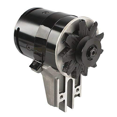 Powermaster 82021 PowerGEN Black 75A Strap Mount Alternator for Ford
