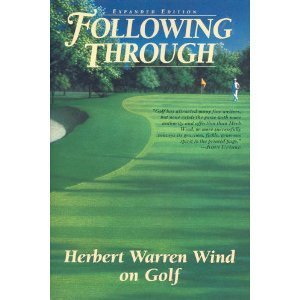 Following Through: Writings on Golf ISBN-13 9780060976606