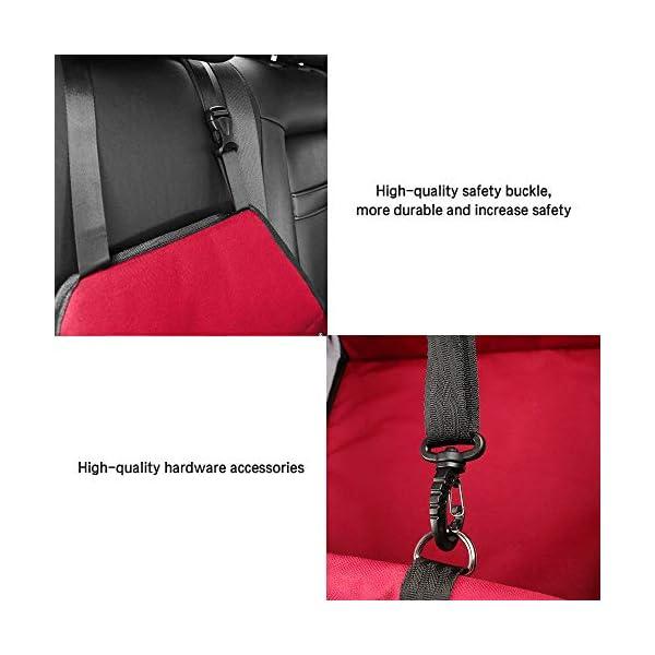 41EWNmiw0fL IvyLife Auto-Hundesitz für Kleine Hunde oder Katzen Transporttasche verstellbar aus Oxford-Stoff Wasserdicht…