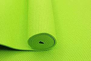 Tasheng Sports Yoga Mat PVC 4mm Green