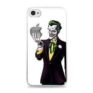 147 Joker Holding For HTC One M9 Case Cover Hardshell Case - White