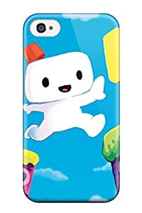 durable Protection Case Cover For Iphone 4/4s(fez Playstation Game)