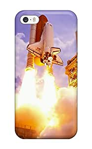 Cute Appearance Cover/tpu XYYbJlS51tHony Space Shuttle Takeoff Case For Iphone 5/5s