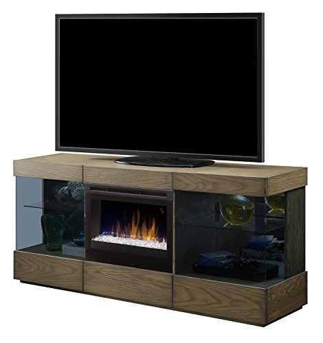 Cheap DIMPLEX Axel Media Console Electric Fireplace Large Raked Sand Black Friday & Cyber Monday 2019