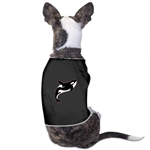 XUGGL Tiny Dog Clothing Whale Killer Water Orca