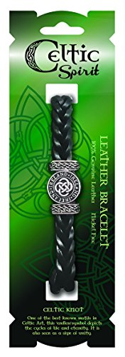 Celtic Spirit Black Leather...
