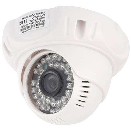 - Home & Security Cameras CMOS 420TVL 3.6mm Lens ABS Material Color Infrared Camera with 36 LED, IR Distance: 20m