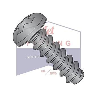 Sheet Metal Screws Pan Head Stainless Steel #12 x 1//2 Qty 5000
