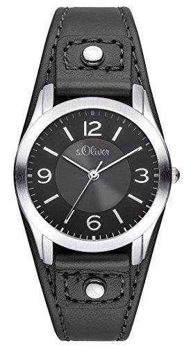 s.Oliver Damen-Armbanduhr Analog Quarz SO-2945-LQ