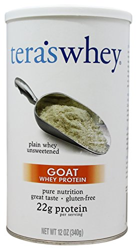 tera's: Goat Whey Protein, Plain, 12 oz by tera's