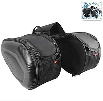 dianhai306 Caja de Motocicleta Bolsa alforjas Moto Mochila Moto Impermeable Bolsa de Motocicleta de Gran Capacidad Bolsas de Asiento Bolsa Tanque deposito para Motocicleta