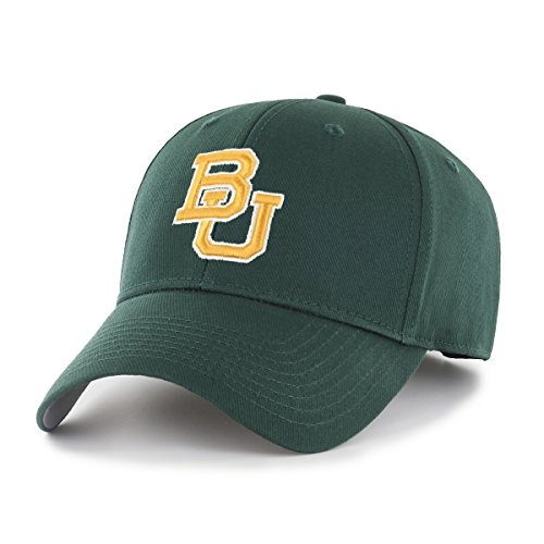 NCAA Baylor Bears OTS All-Star MVP Adjustable Hat, Dark Green, One Size -
