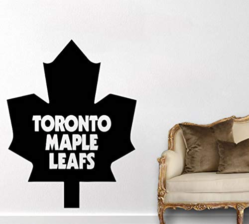 Pbldb Canada Toronto Maple Leaf Wall Decal Fashion Home Decor for Kids Room Living Room Art Mural Deor Houseware Decal -