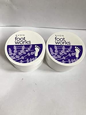 Avon Foot Works Lavender Softening Balm LOT OF 2!!!