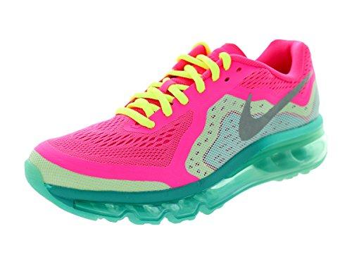 Nike Girls-big Kids Air Max 2014 Gioventù Scarpe Da Corsa Iper Rosa / Mtllc Slvr / Vlt / Hypr J