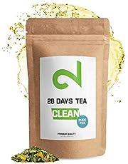 DUAL CLEAN-28 Days PureTox Tea   Voor Dames en Heren   Traditioneel Actief Kruidencomplex   85g Los Blad   Zonder Toevoegingen   100% Natuurlijk Voedingssupplement   in Duitsland Gemaakt