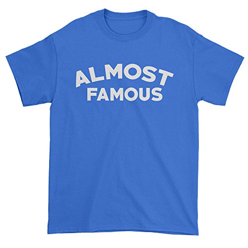 Mens Almost Famous T-Shirt X-Large Royal - Costume Almost Famous