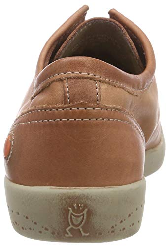 Sneaker Donna Isla 557 brick Washed Marrone Softinos Leather qntfPIP
