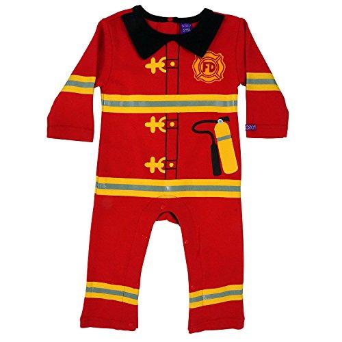 Sozo Baby-Boys Newborn Fireman Coverall