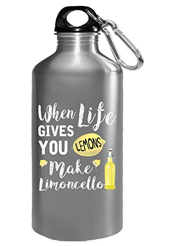 Funny When Life Gives You Lemons Make Limoncello - Water Bottle