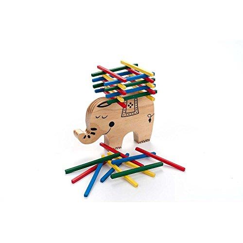 Engelhart - Jeu d'équilibre et d'empilement en bois l'éléphant - 340915