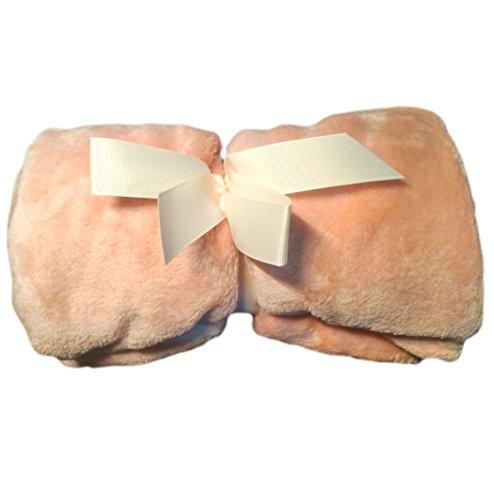 GAVIN LAND Dog Bed Blanket – Pet Flannel Soft Throw (pink)