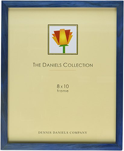 Dennis Daniels Gallery Woods Picture Frame, 8 x 10 Inches, (Colored Wood Picture Frames)