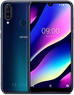 "WIKO View3 – Smartphone de 6,26"" HD+ IPS (Triple Cámara, 4000mAh ..."