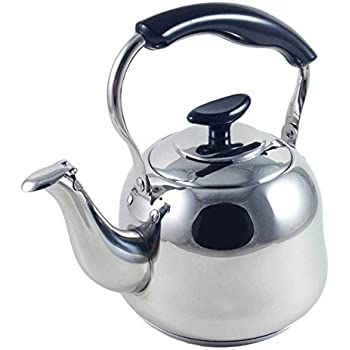 1 liter alpine cuisine polished mirror finish for Alpine cuisine tea kettle