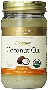 Spectrum Organic Coconut Oil, 14 oz