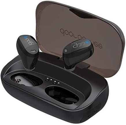 True Wireless Earbuds, Wireless Bluetooth Earbuds Dooreemee TWS 5.0 in-Ear Earphones with Hi-Fi Sound, IPX5 Waterproof, Touch Control, 96H Playtime and 3000mAh Large Capacity Charging Case, Built-in M