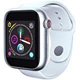 MChoice❤️New Z6 Bluetooth 3.0 Smart Watch Supports Android Phone SIM Card and Camera (White)