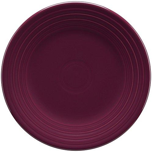 Fiesta 9-Inch Luncheon Plate, Claret