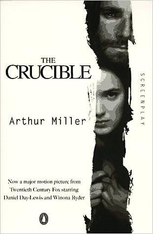 The Crucible Screenplay Arthur Miller 9780140259094