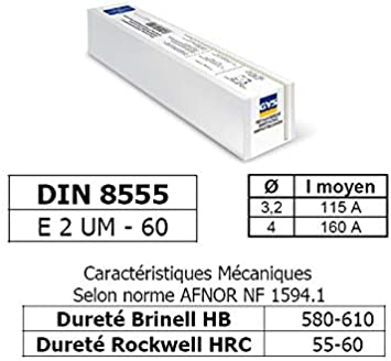 GYS 90 electrodos para autragssch blancas – Caja, diámetro 4 mm, 6,8 kg, 081512: Amazon.es: Bricolaje y herramientas