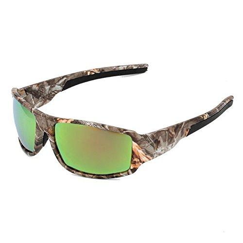 Sports Sunglasses Polarized Mens Camouflage Eyewear Driving Glasses Shades Camo Sport Glasses